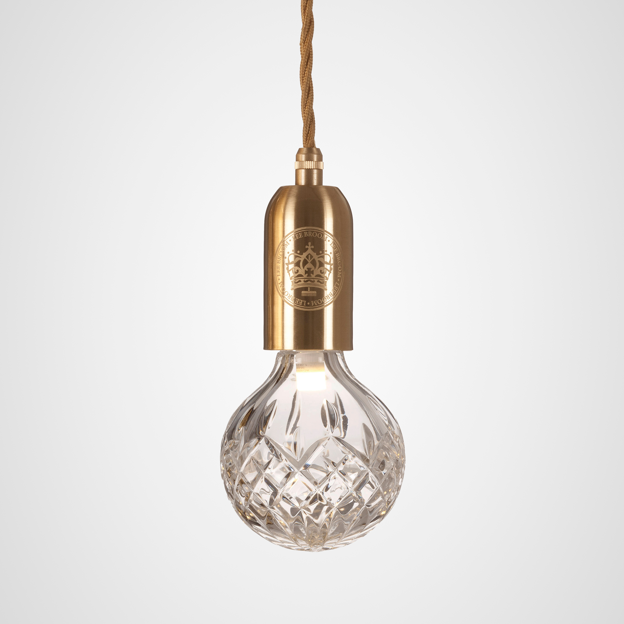 Bulb pendant by lee broom cb00121 crystal bulb pendant by lee broom cb00121 mozeypictures Choice Image