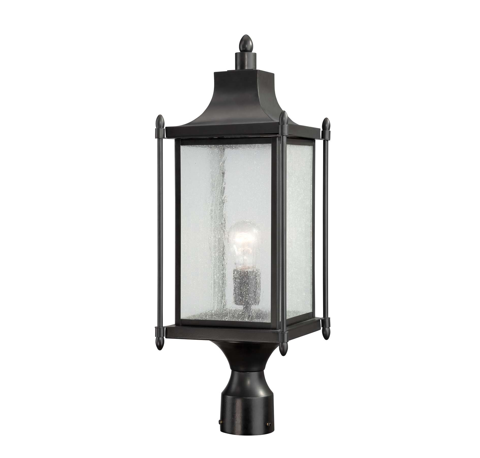 Dunnmore exterior post light by savoy house 5 3454 bk dunnmore exterior post light by savoy house aloadofball Images