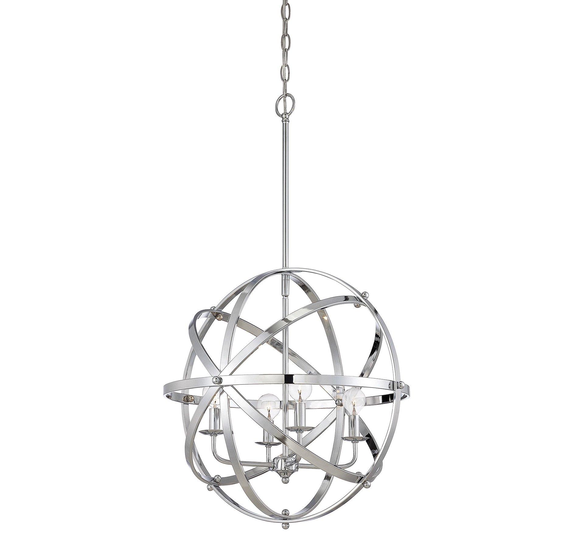 dias orb pendant by savoy house 743534ch - Savoy Lighting