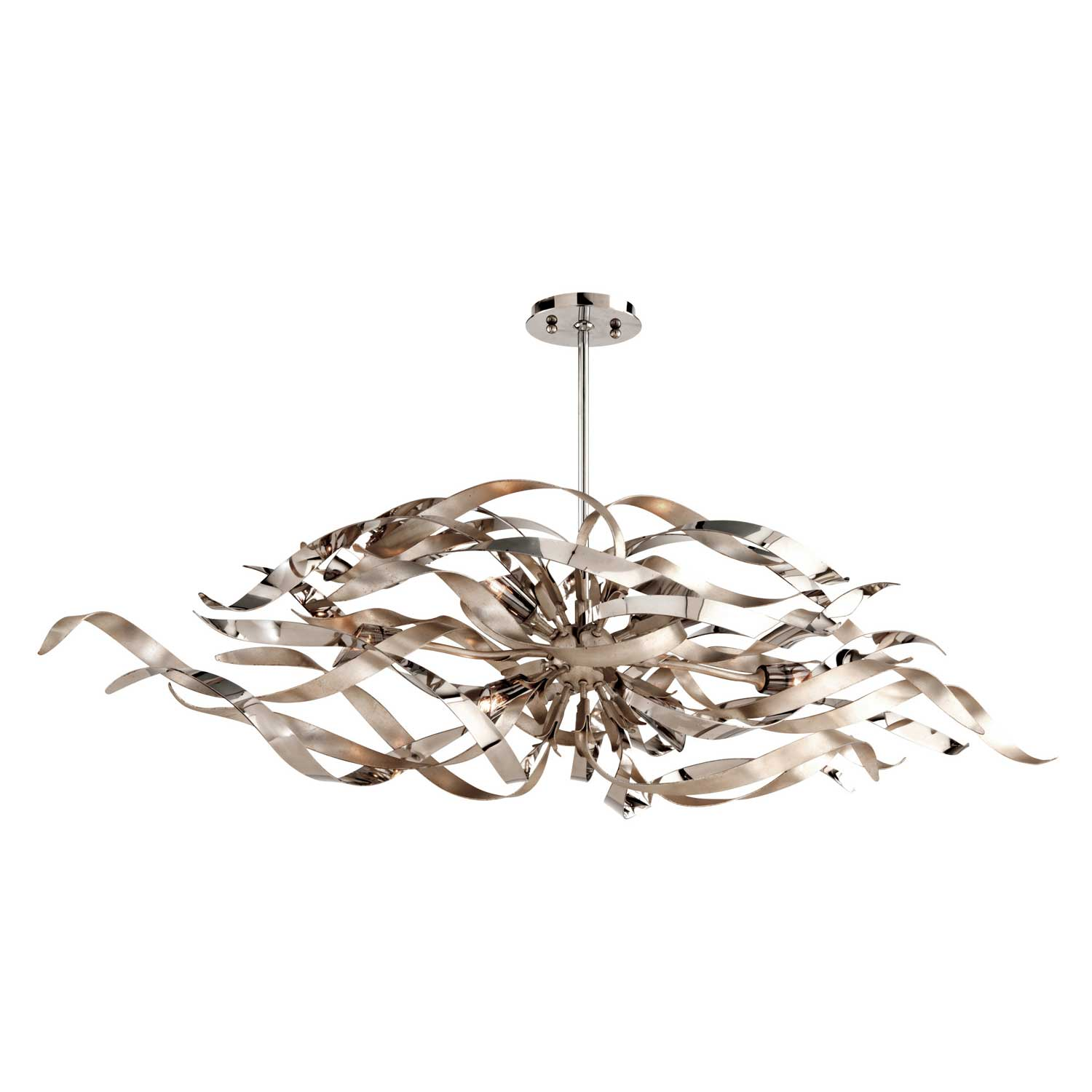 Graffiti Linear Chandelier By Corbett Lighting 154 56