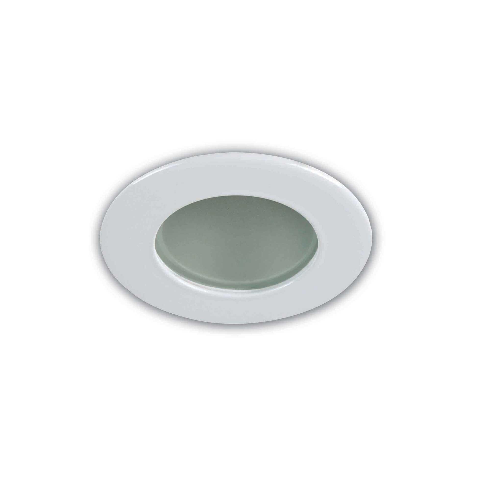 3.5 Inch MR16 Lensed Shower Trim by Priori   X3501-01
