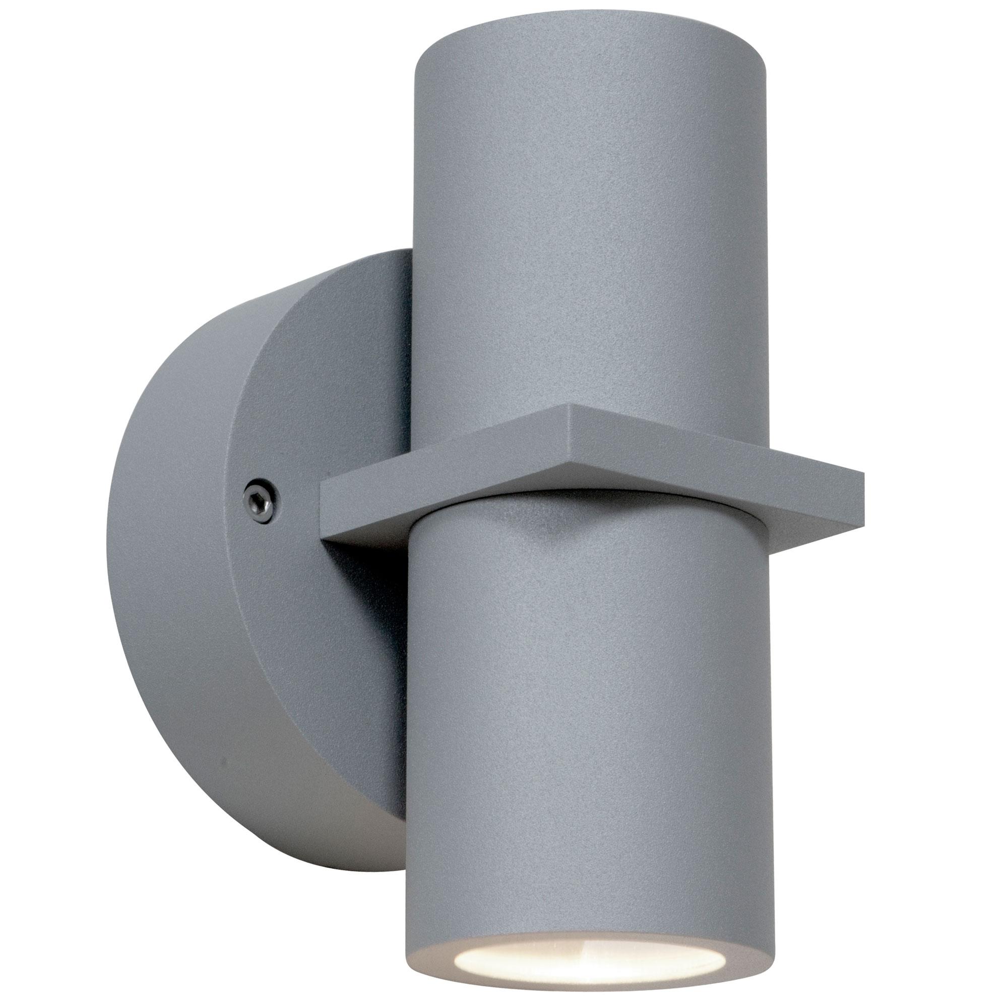 sc 1 st  Lightology & KO 52 Dual Spot Outdoor Wall Light by Access | 20352MG-SAT/CLR