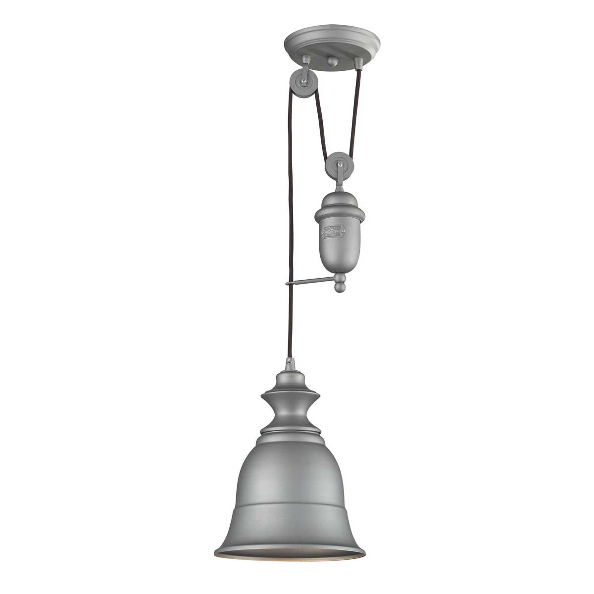 Elk Lighting Modern Farmhouse: Farmhouse Metal Shade Pendant By Elk Lighting