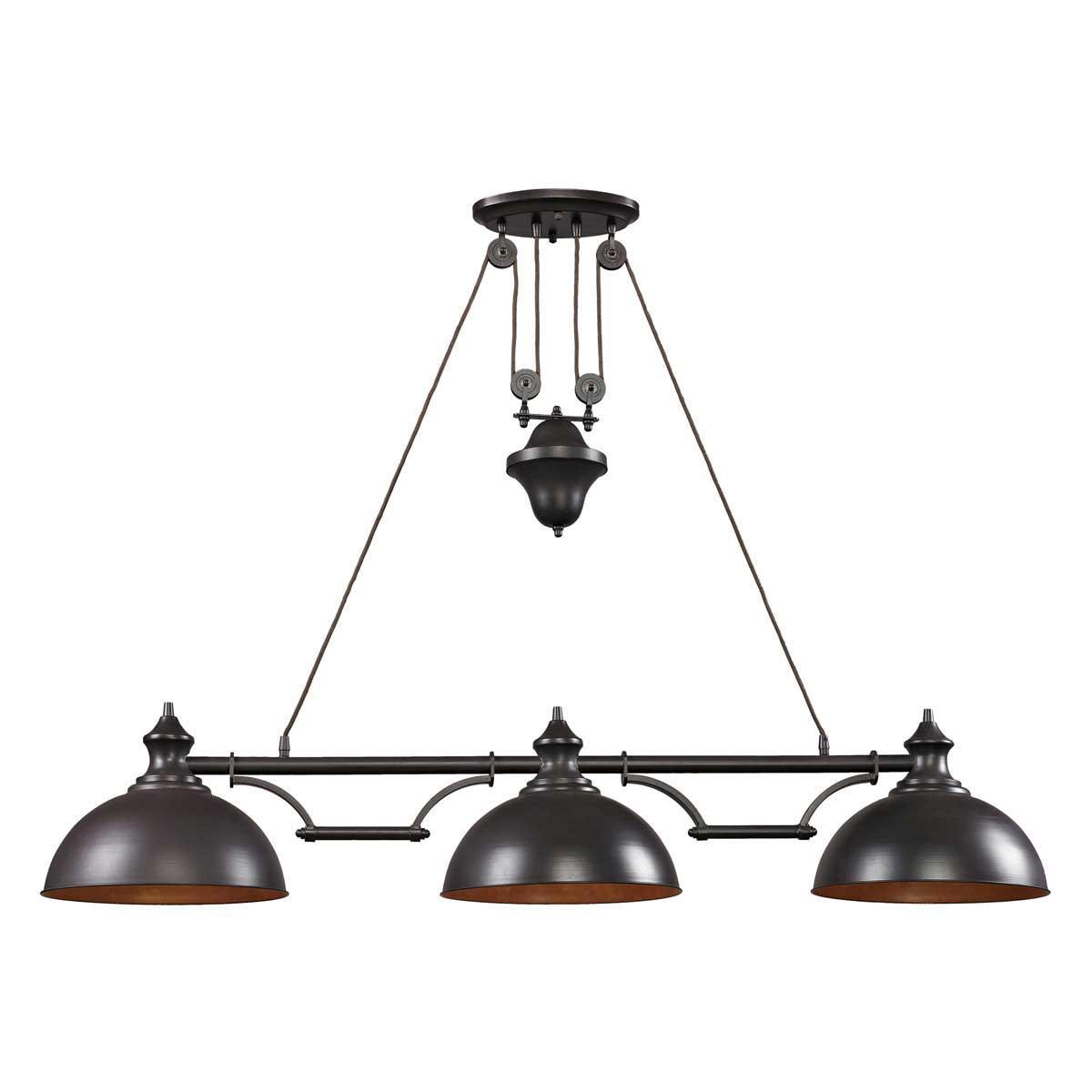 Farmhouse Linear Pendant Light By Elk Lighting 65151 3