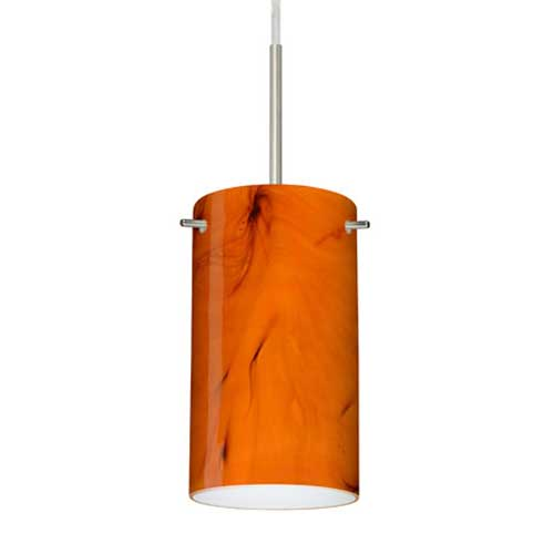 stilo 7 pendant by besa lighting 1bt 4404hb sn