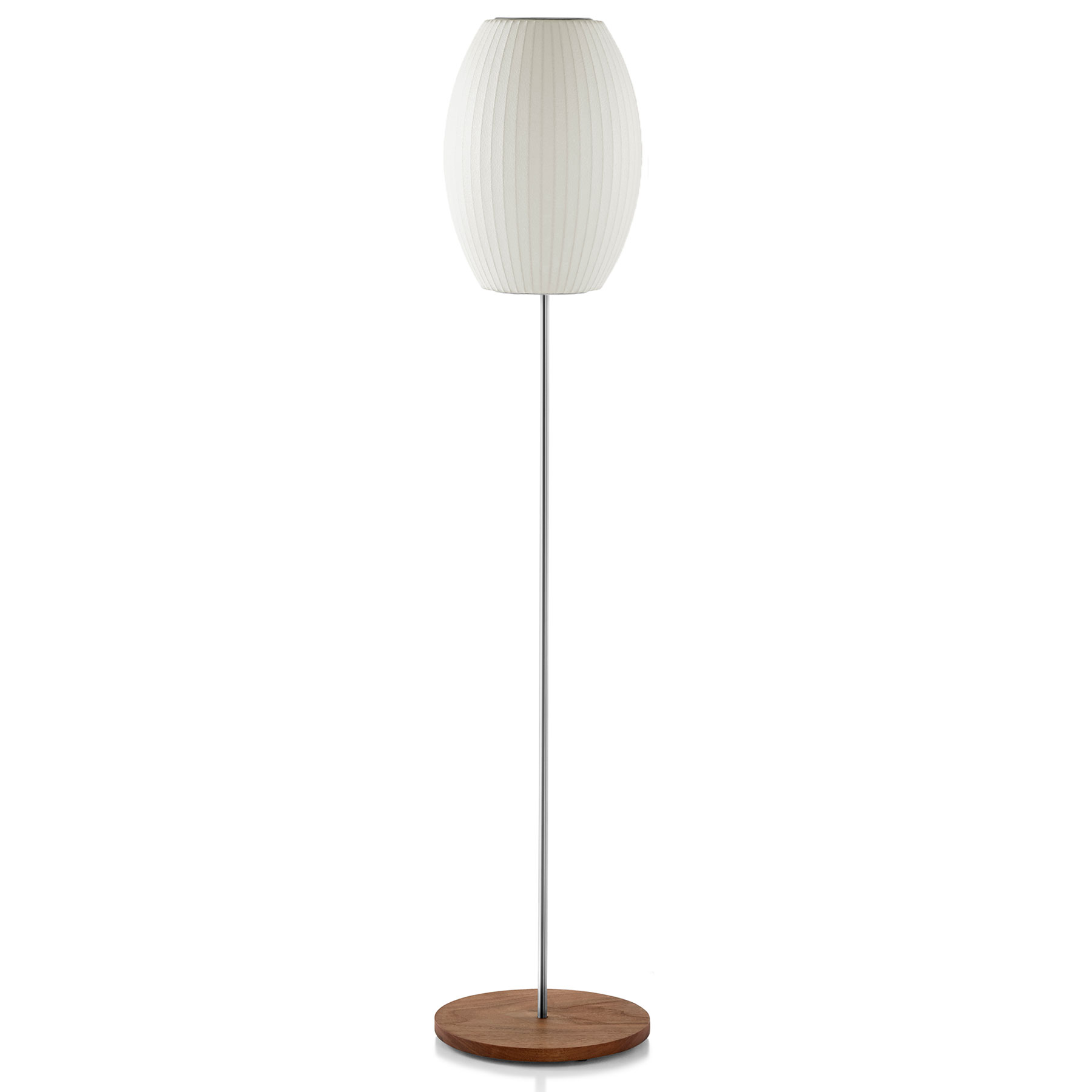 Cigar lotus floor lamp by george nelson by modernica for Lotus floor lamp white