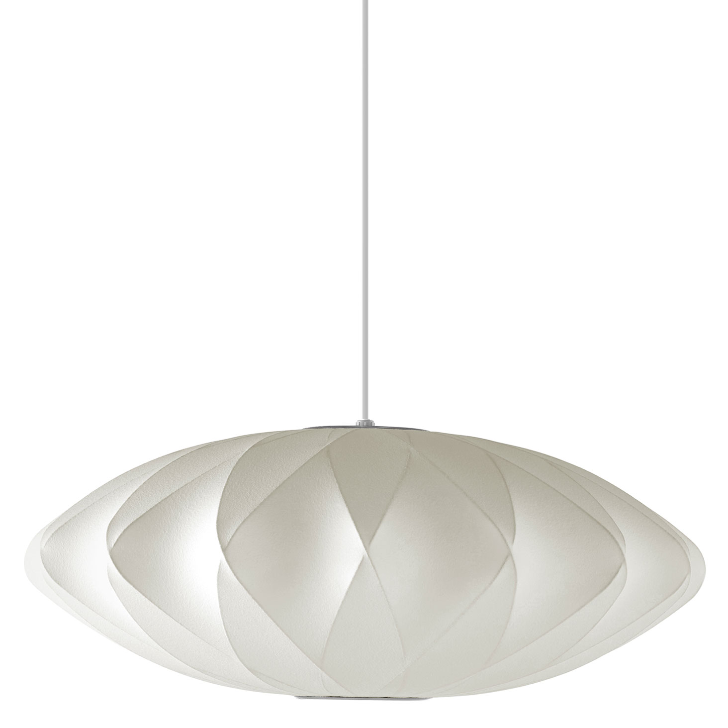 Saucer Criss Cross Pendant By Nelson Bubble Lamps H763ccsbns