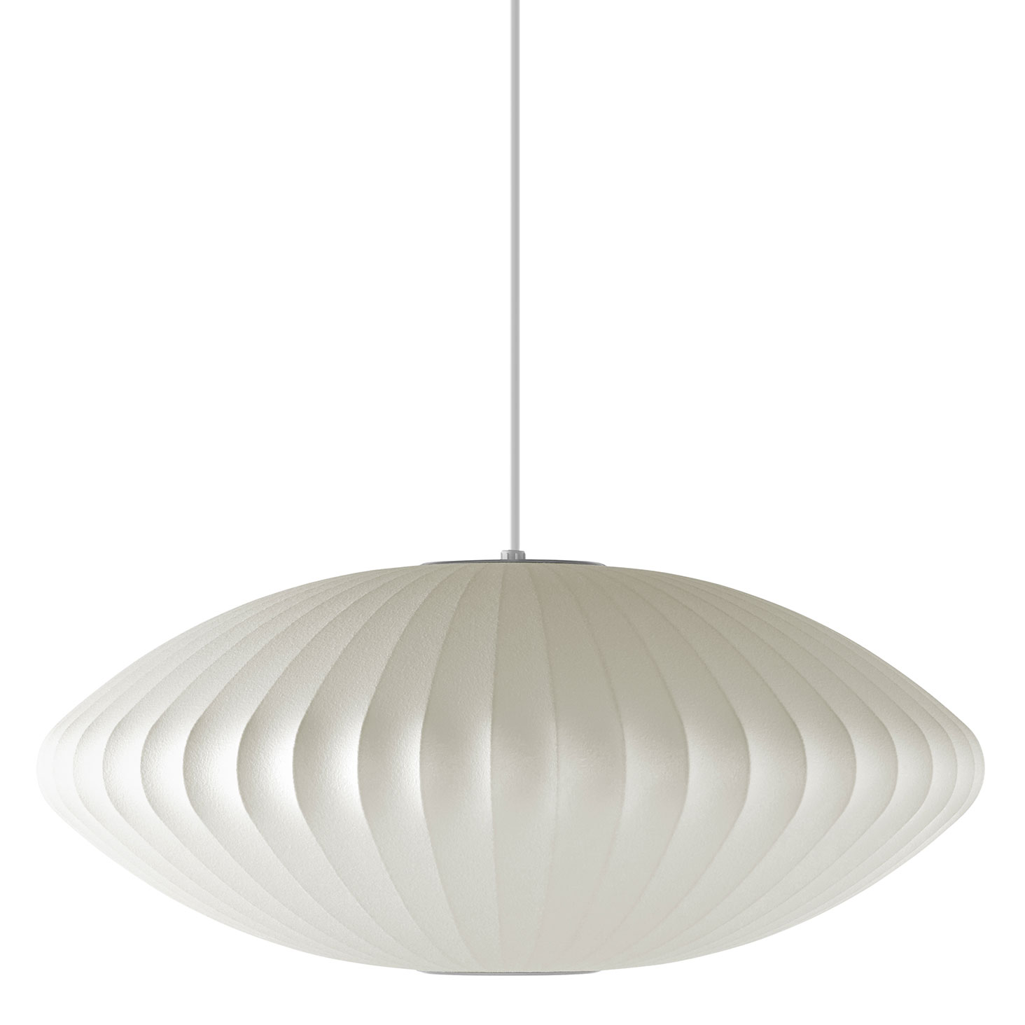 Saucer Pendant By George Nelson H763s Bns