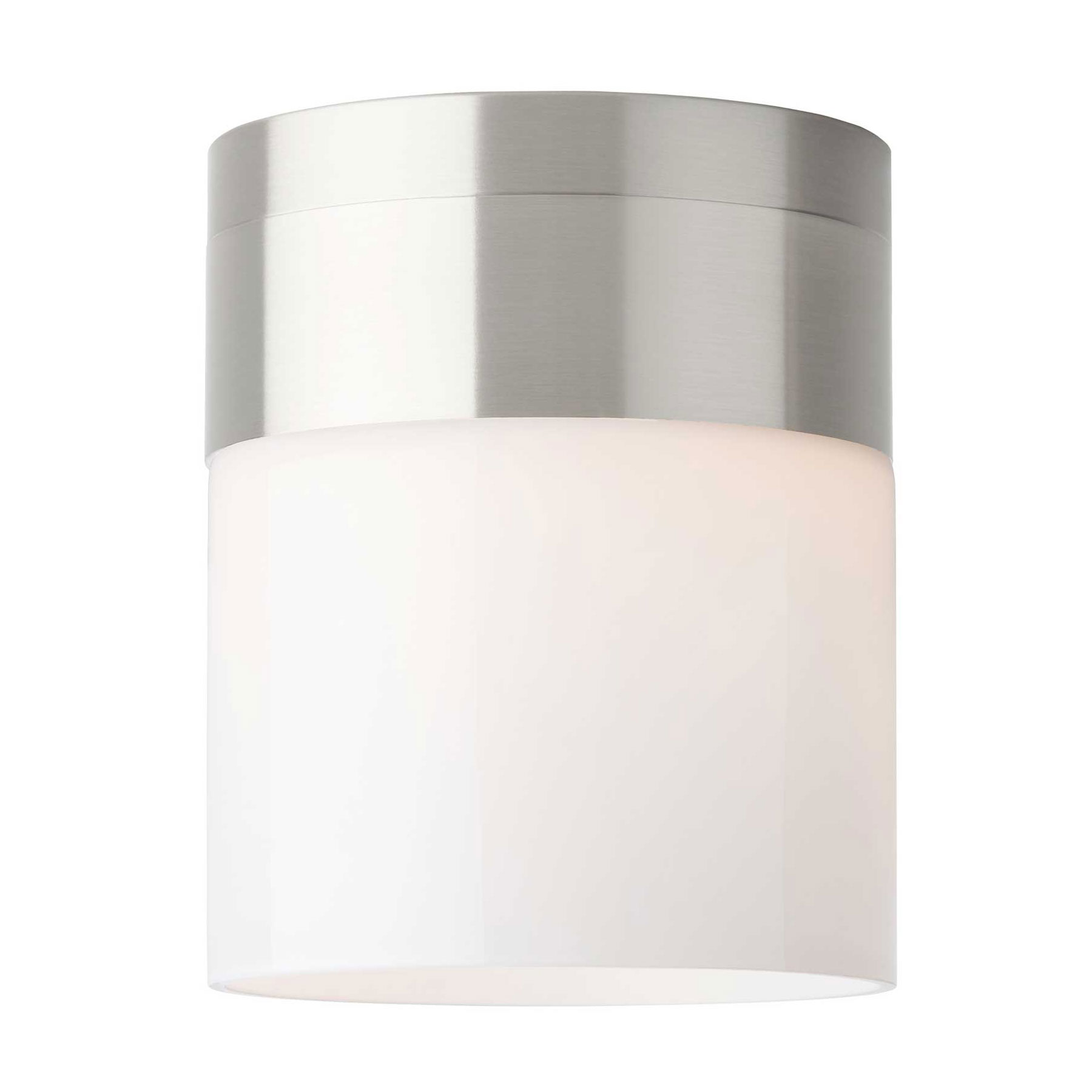 in flush p flushmount hampton lights bay dimmable ceiling led bright square brushed mount nickel white fixture light