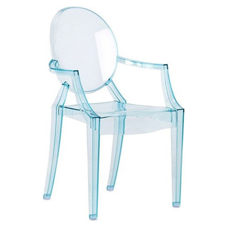 Louis ghost chair 4 pack by kartell 4853 j5 4pk for Chaise louis ghost kartell
