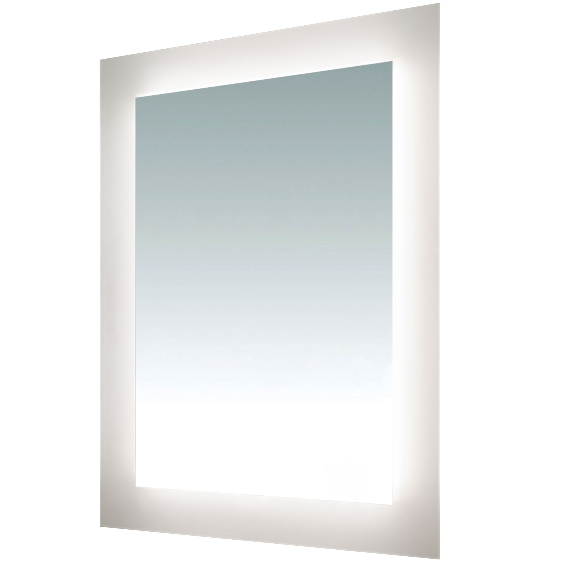 sail surface mount led mirror by pureedge lighting sail. Black Bedroom Furniture Sets. Home Design Ideas