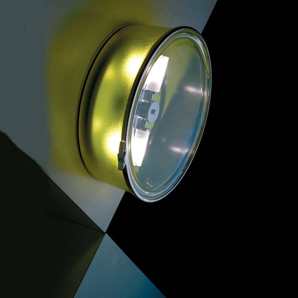 Round Flush Wall Lights : Box Round Wall Sconce or Ceiling Flush Mount by AI Lati Lights LL8401GI