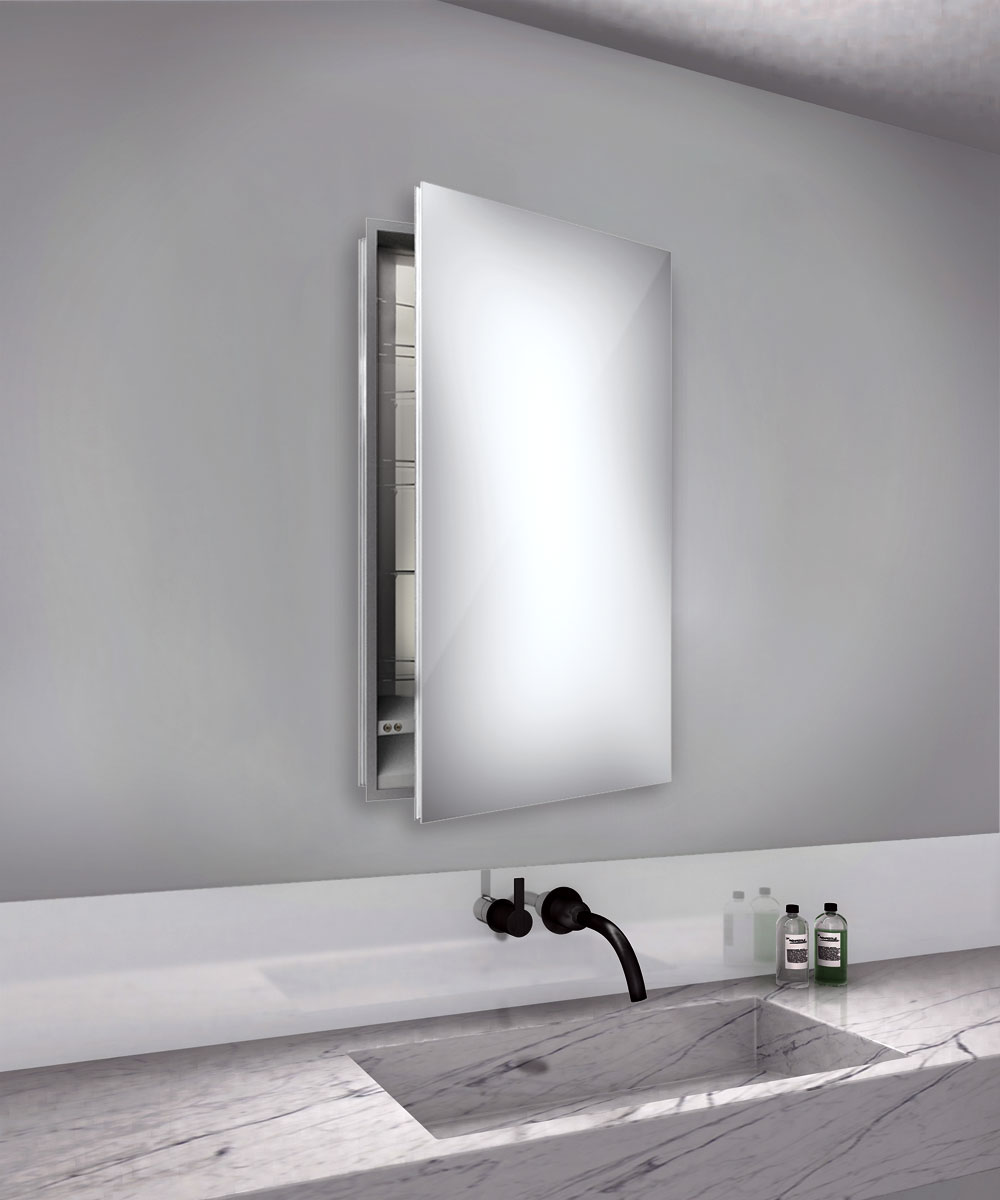 Superieur Simplicity Right Hinge Medicine Cabinet By Electric Mirror