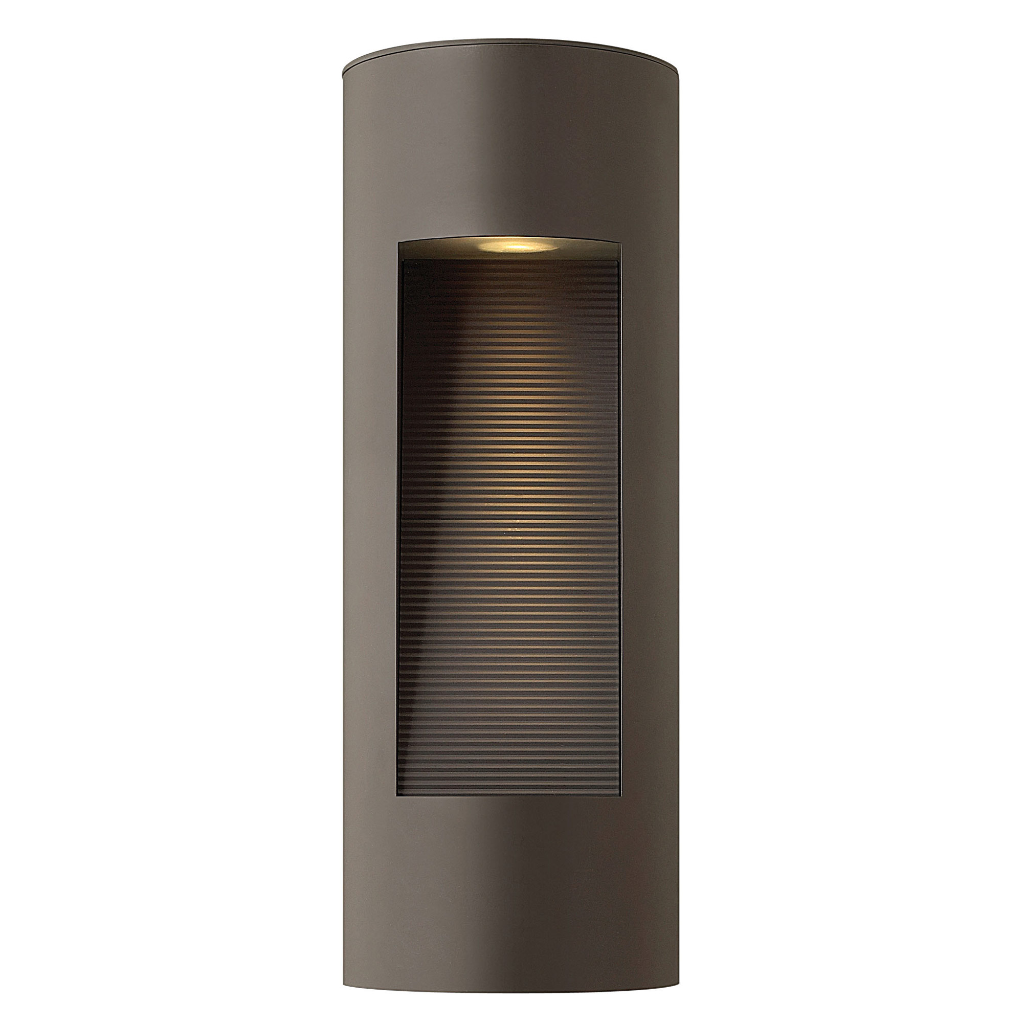 Luna Rectangular Outdoor Wall Sconce by Hinkley Lighting 1660BZ-LED