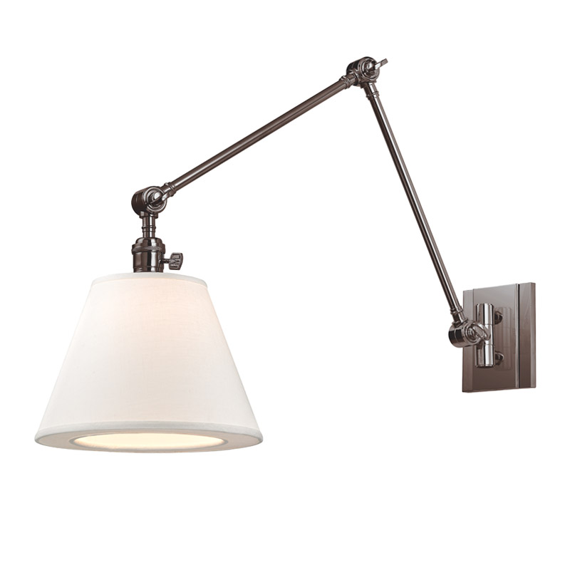 Hillsdale Vertical Swing Arm Wall Light by Hudson Valley Lighting | 6234-HN