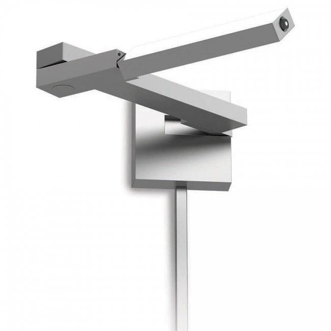 flip left led swing arm lamp by dweled by wac lighting bl1021ltt - Swing Arm Lamp
