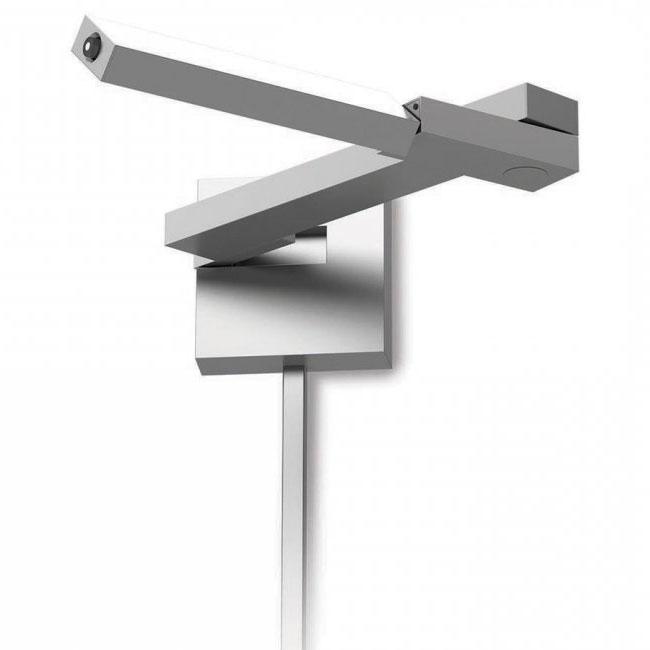 flip right led swing arm lamp by dweled by wac lighting bl1021rtt - Swing Arm Lamp