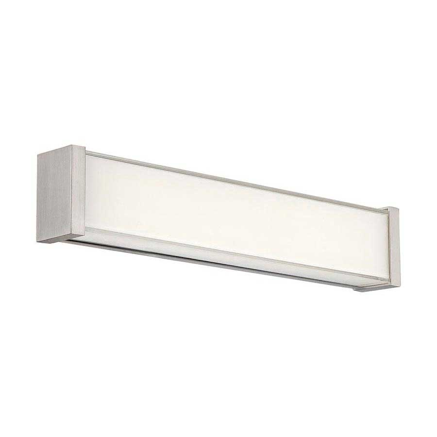 svelte led bath bar by dweled by wac lighting - Bathroom Light Bar