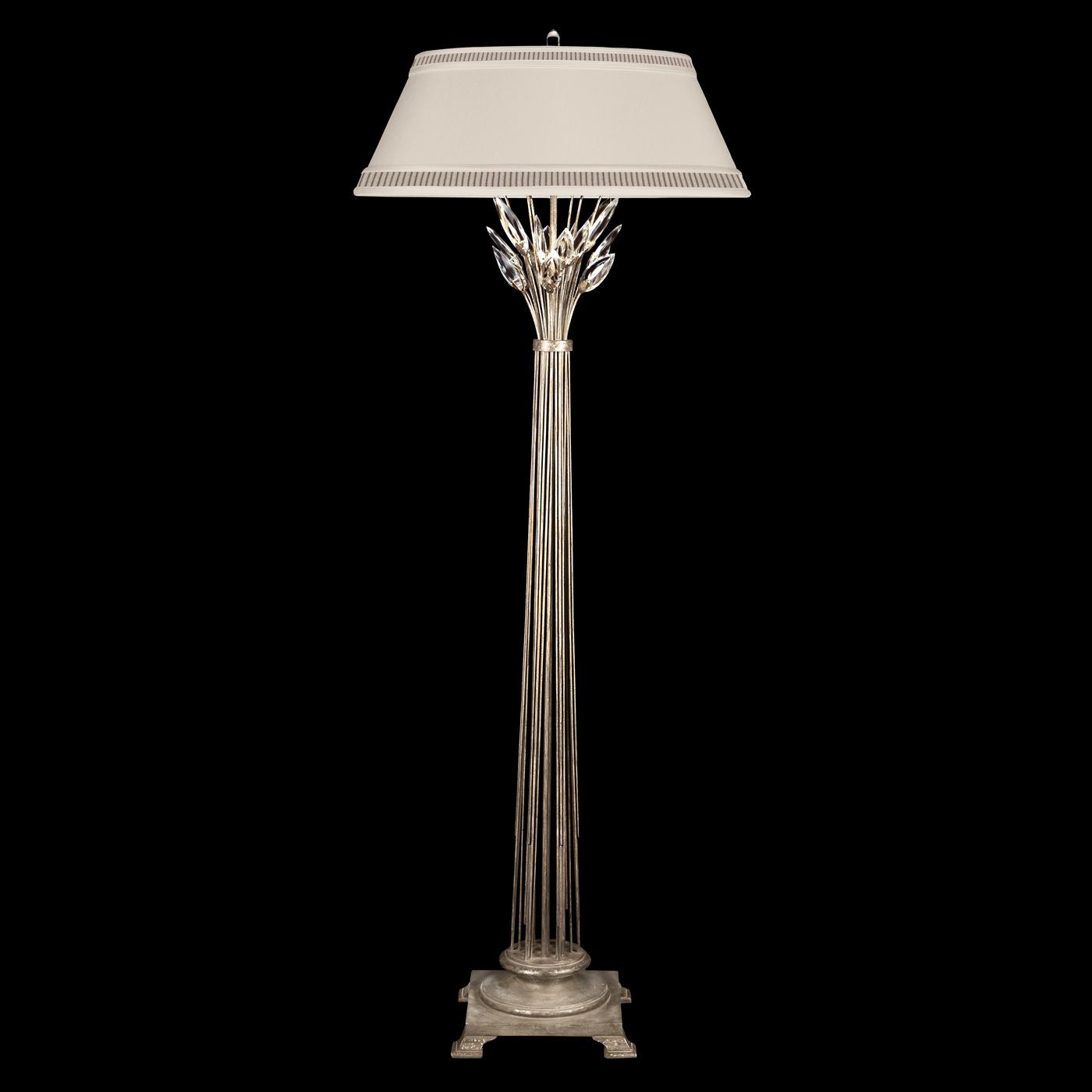 crystal laurel floor lamp by fine art lamps 772520. Black Bedroom Furniture Sets. Home Design Ideas