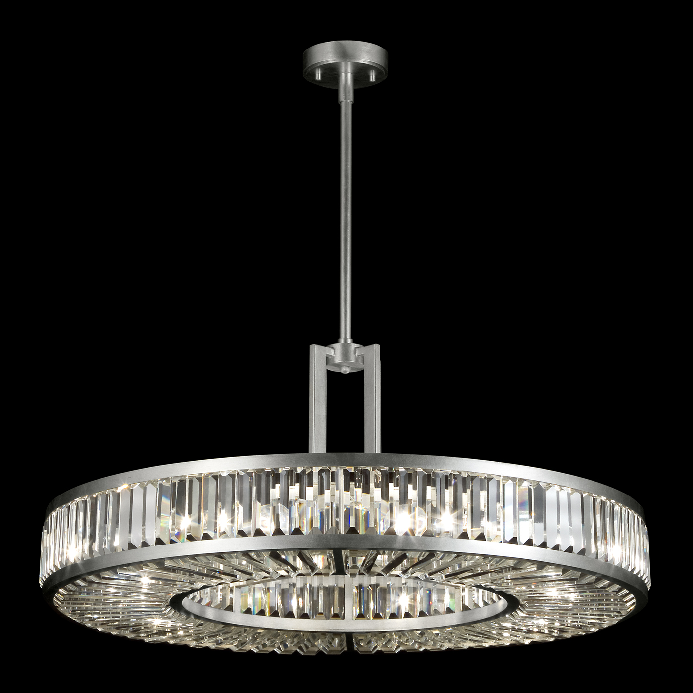 crystal enchantment round pendant by fine art lamps 812040