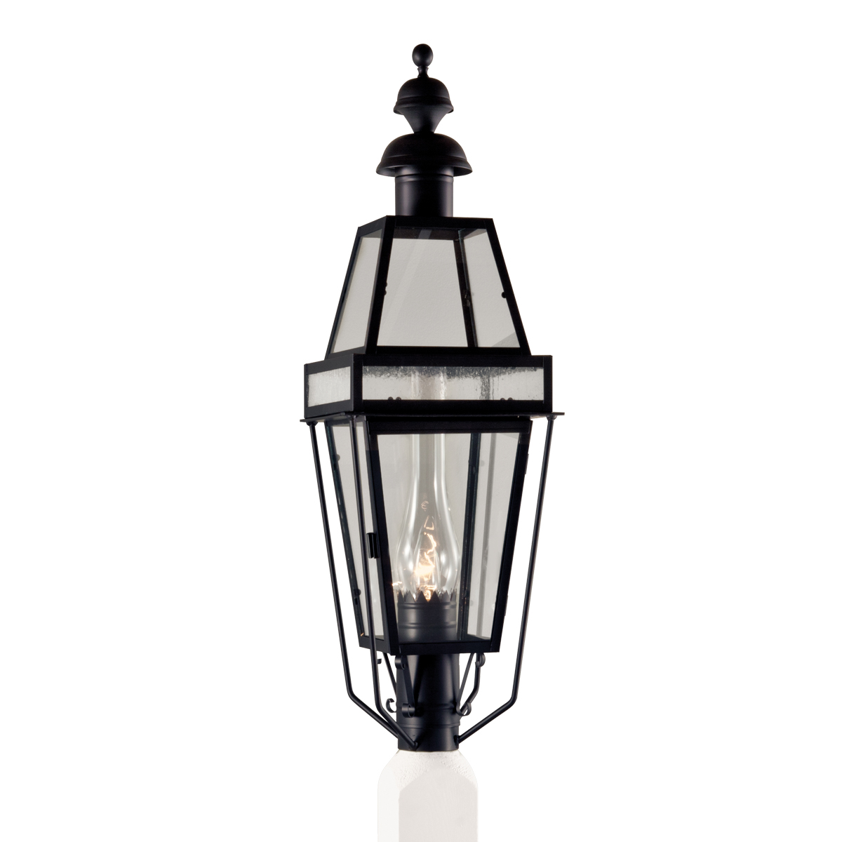 Beacon Outdoor Post Mount By Norwell Lighting 2280c Bl Cl Se