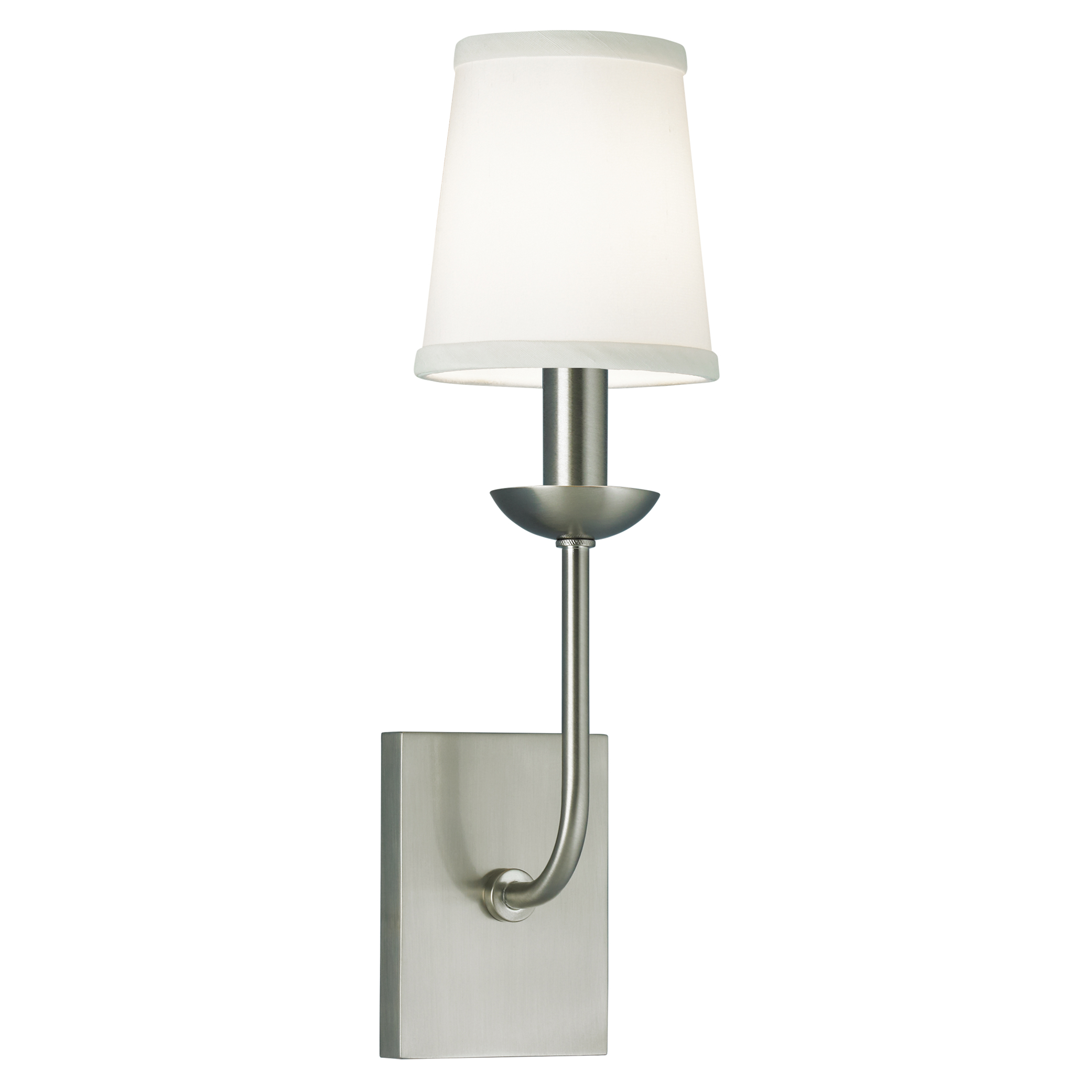 Circa Wall Sconce By Norwell Lighting 8141 Bn Ws