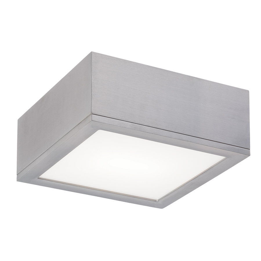 ceiling flush mount by wac lighting  fmwal - rubix  ceiling flush mount by wac lighting  fmwal
