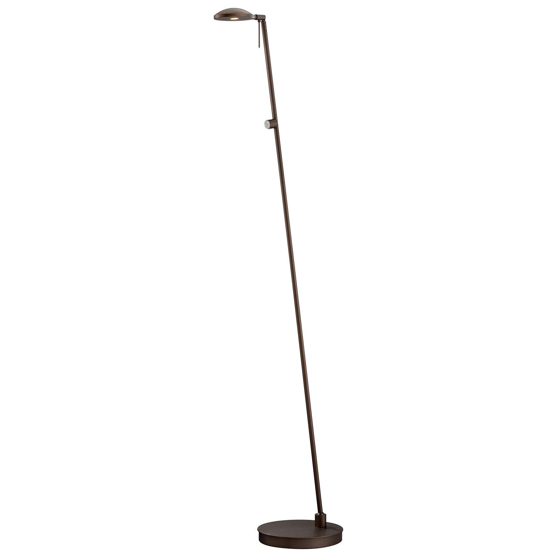 georges led round head reading room pharmacy floor lamp by george. Black Bedroom Furniture Sets. Home Design Ideas