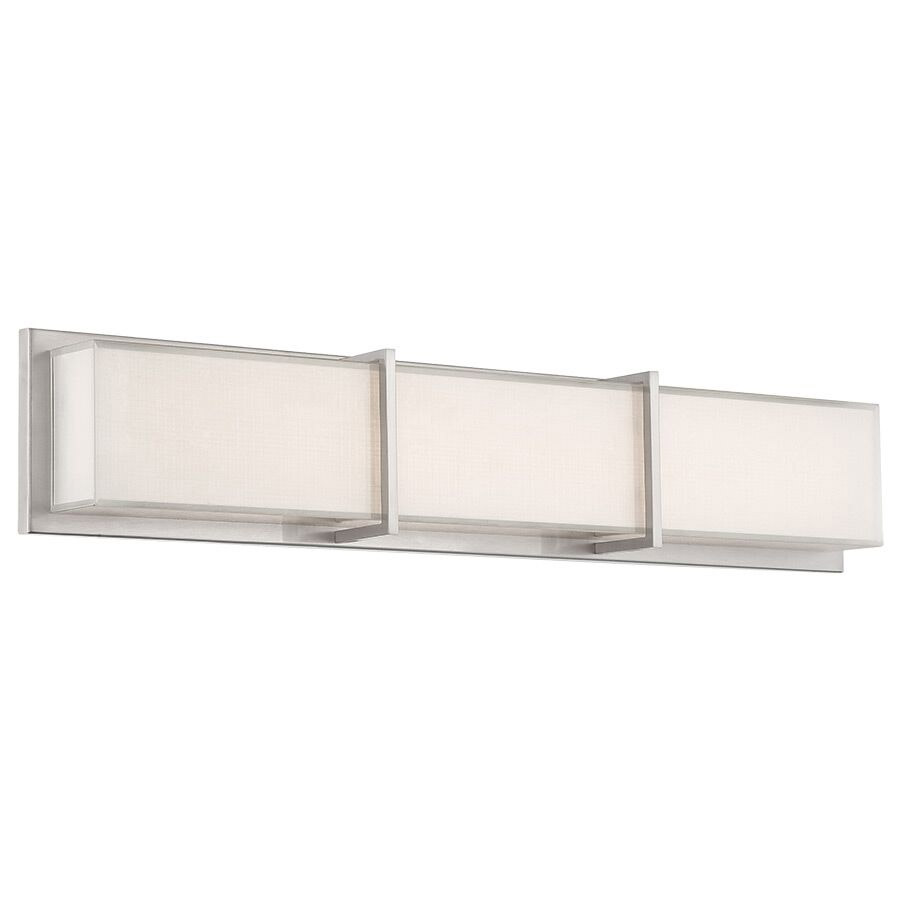 Bahn Bathroom Vanity Light By Modern Forms | WS-6826-BN
