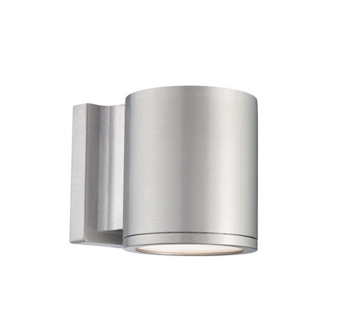 Tube Up/Down Light Outdoor Wall Sconce by WAC Lighting WS-W2604-AL