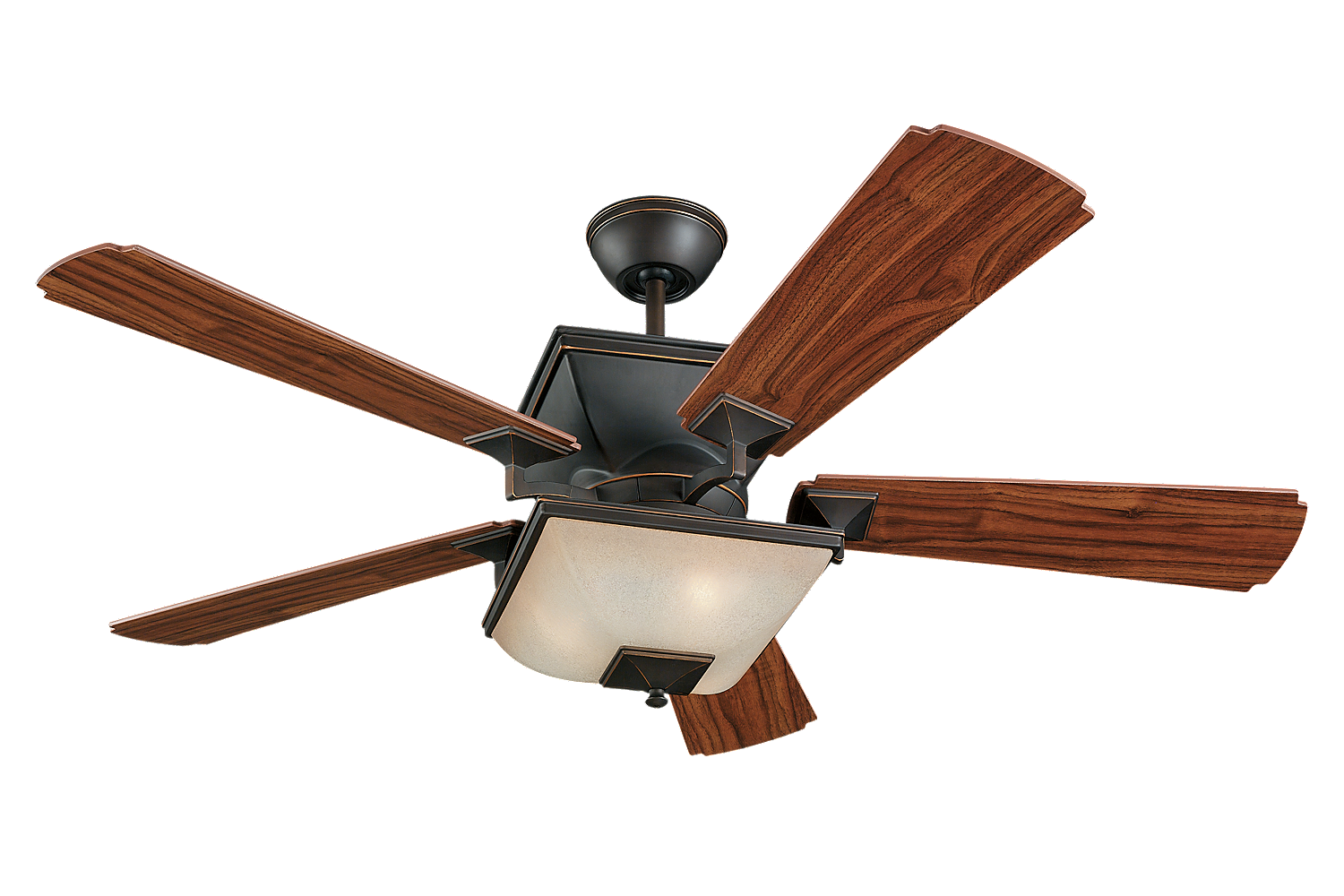 Town ceiling fan with light by monte carlo 5tq52rbd l - Japanese paddle fan ...