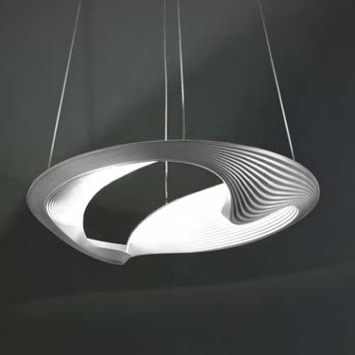Sestessa Cabrio Led Direct Indirect Pendant By Zaneen Design D3 1011whi