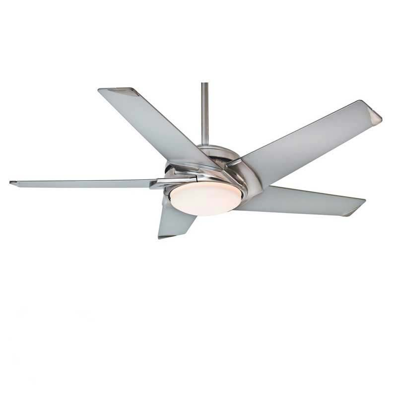 Stealth 5 Blade Led Ceiling Fan By Casablanca
