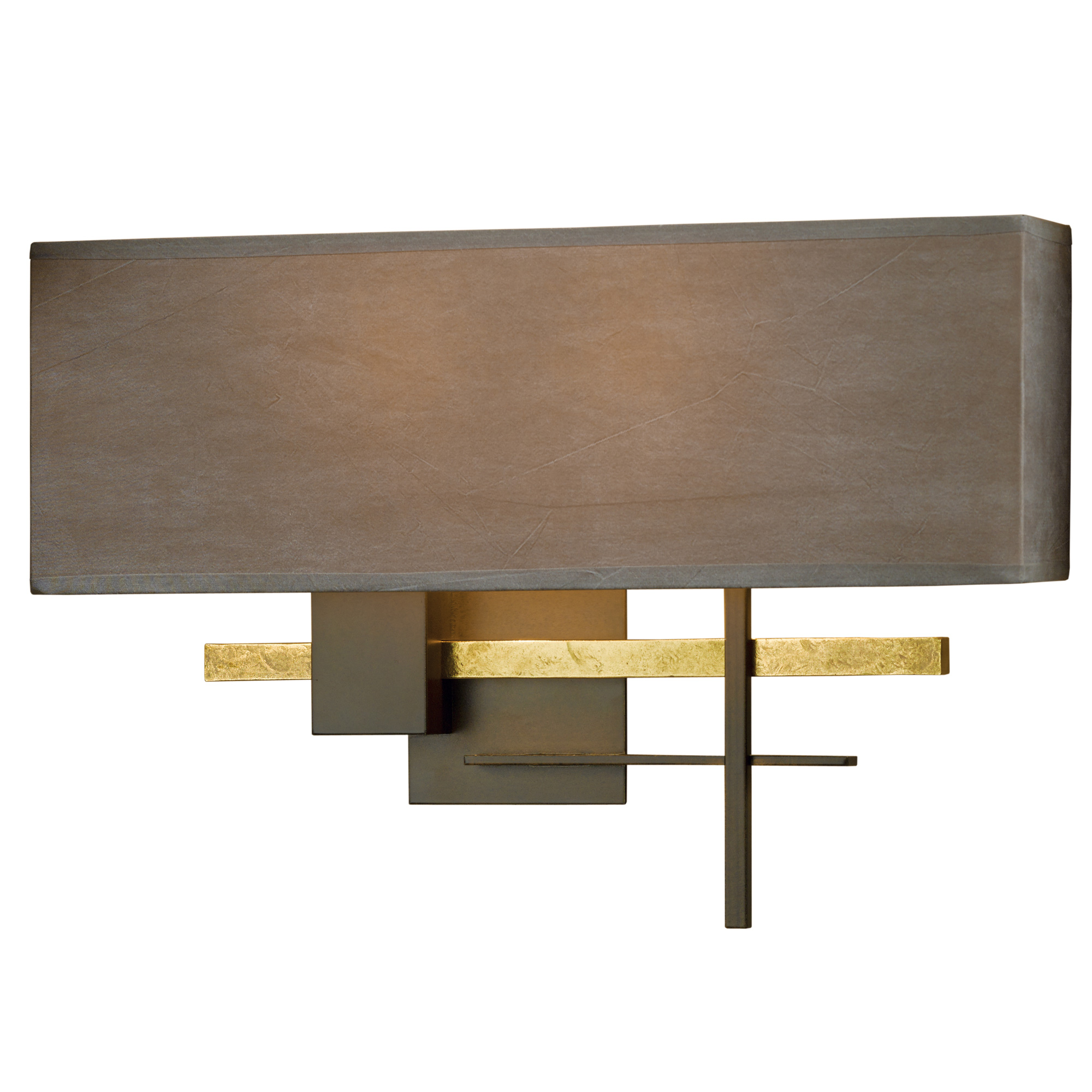 cosmo wall sconce brass by hubbardton forge - Hubbardton Forge