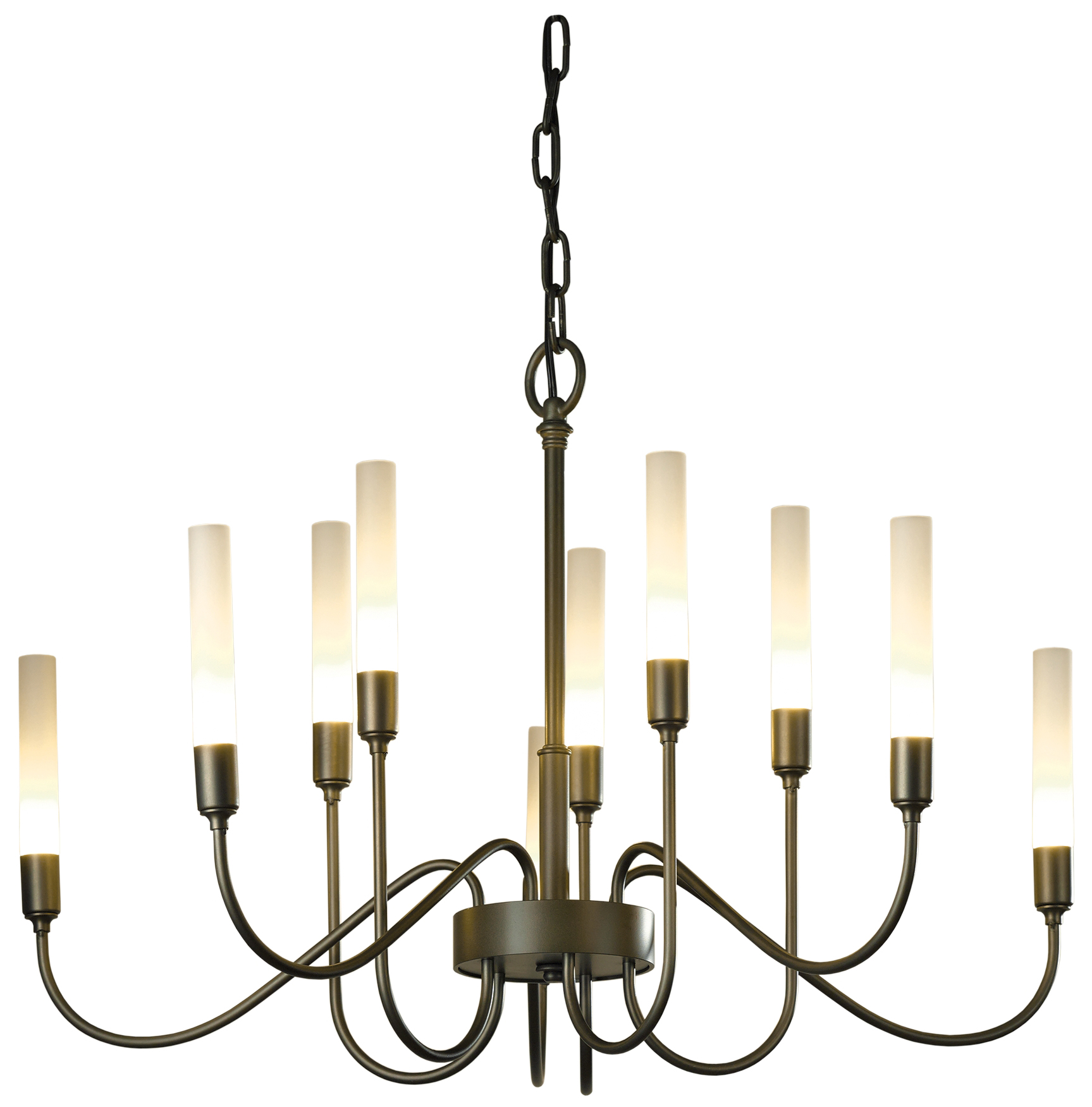 10 arm chandelier by hubbardton forge 106030 07 no lisse 10 arm chandelier by hubbardton forge 106030 07 no arubaitofo Choice Image