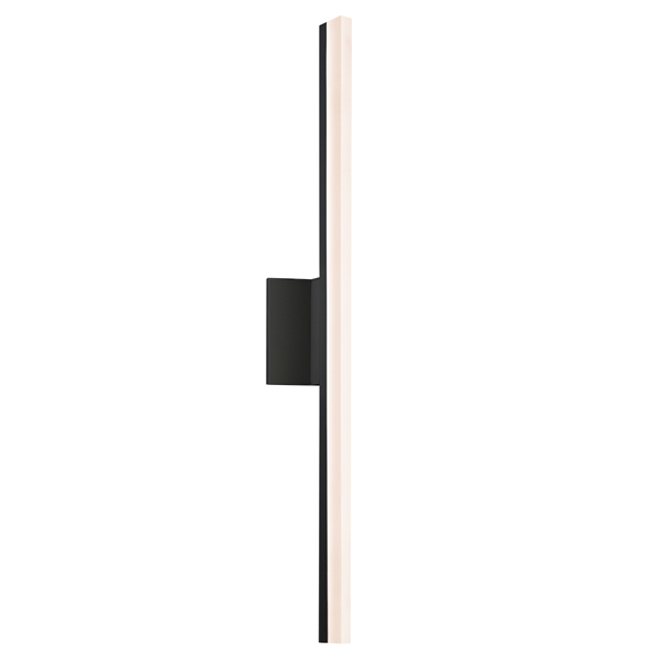 stiletto tall led dimmable wall sconce by sonneman a way of light 234225dim