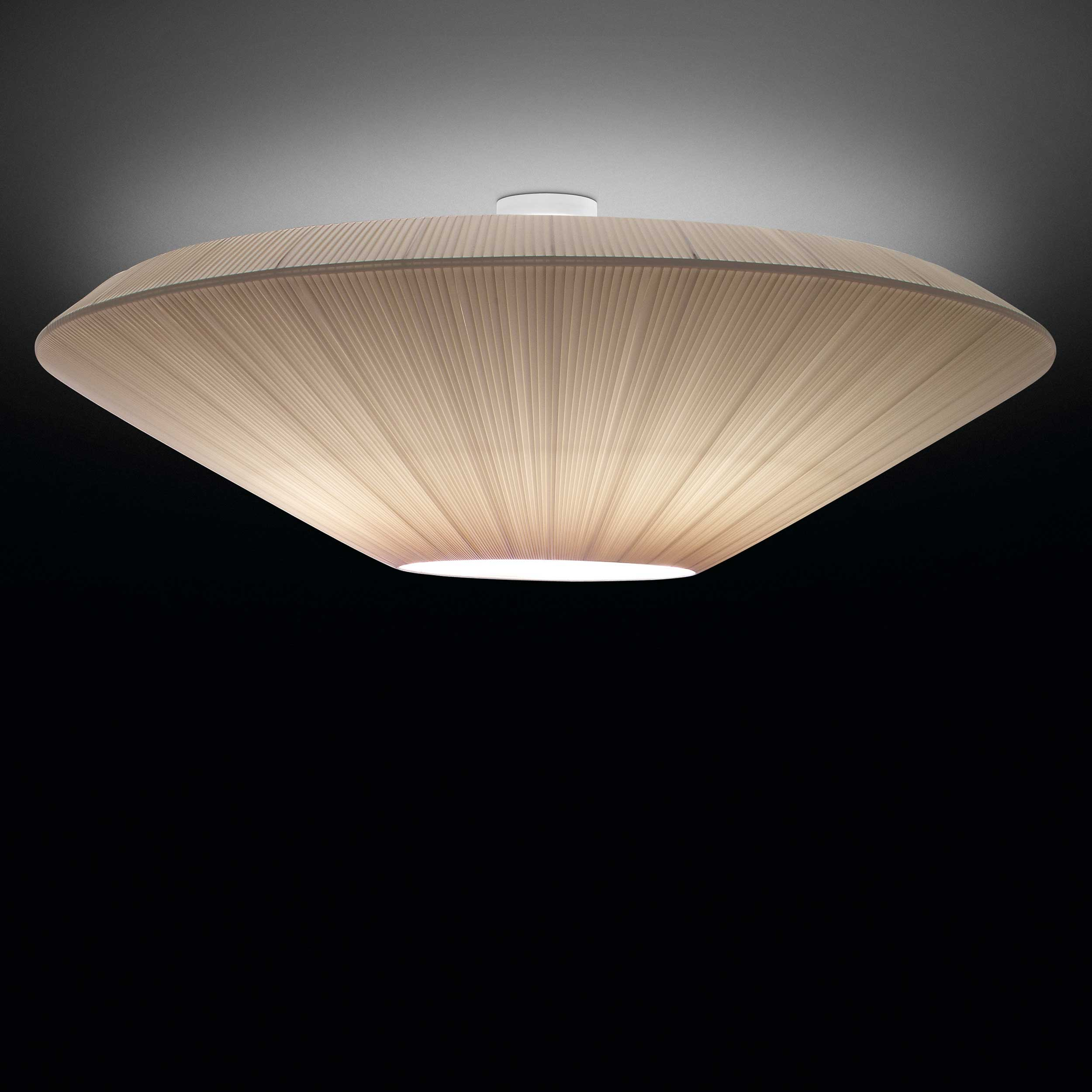 siam 03 semiflush ceiling lamp by bover