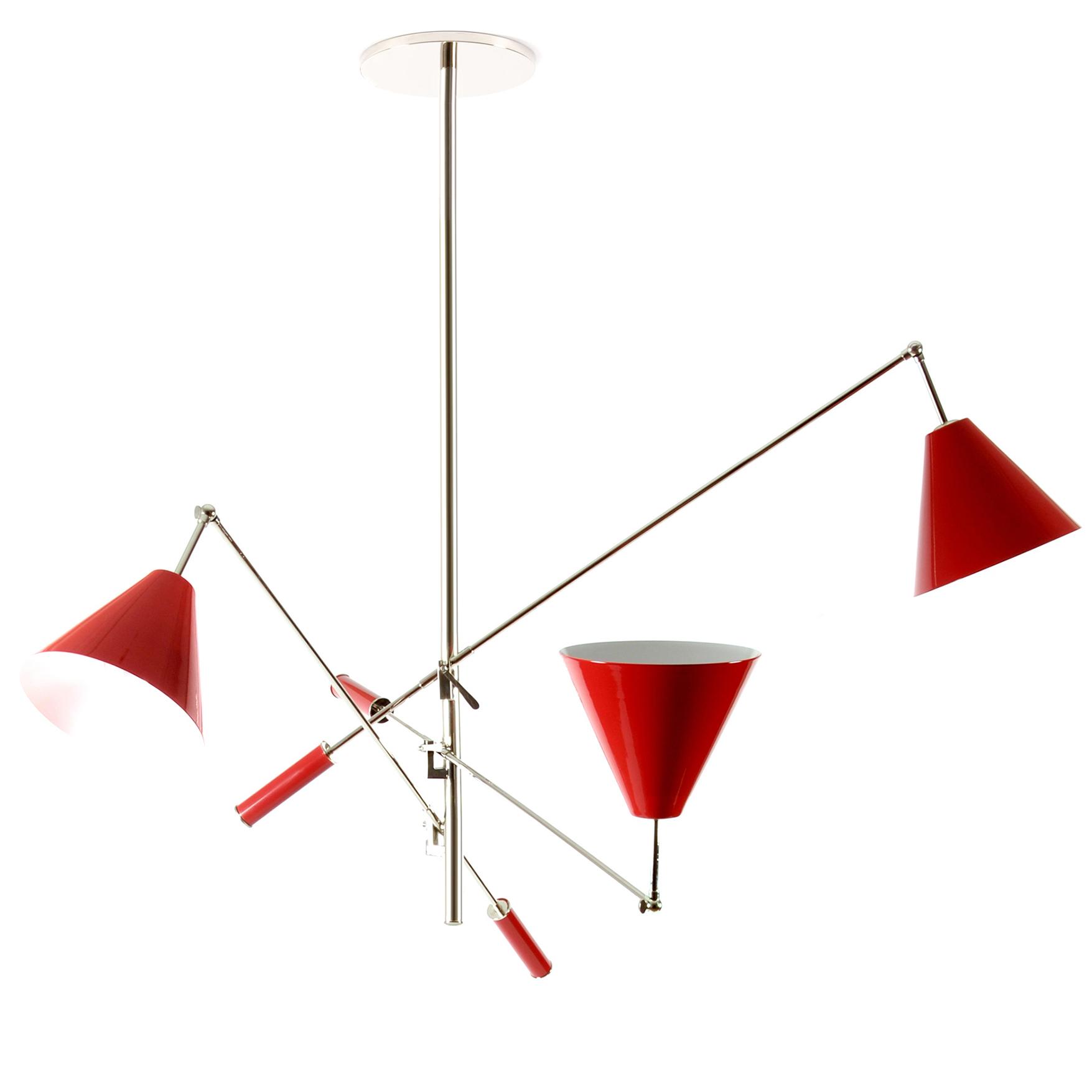 Swing arm chandelier by delightfull sinatra su sinatra swing arm chandelier download image arubaitofo Image collections