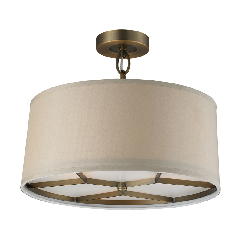 Baxter ceiling semi flush mount by elk lighting 312623 aloadofball