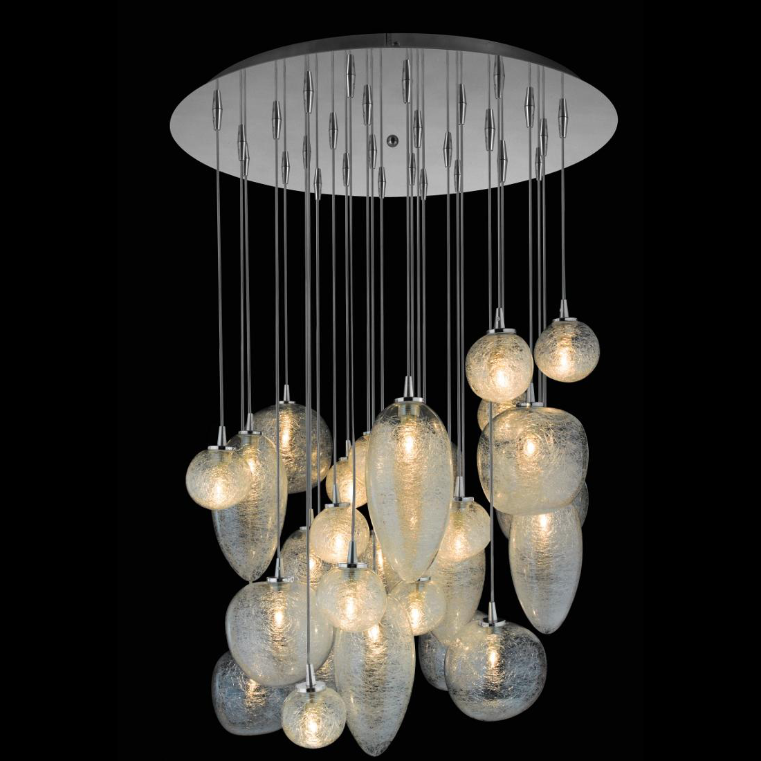 Download Image U0026middot Cosmos 28 Light Pendant By Oggetti  50COSMO28LE  G
