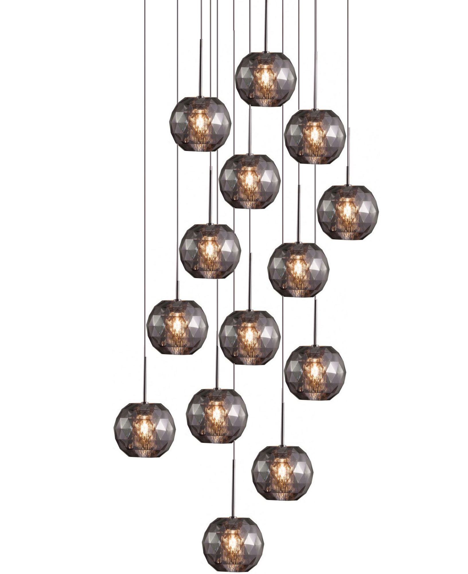 viso lighting. gemma 14 light pendant by viso 14mm0792121 lighting