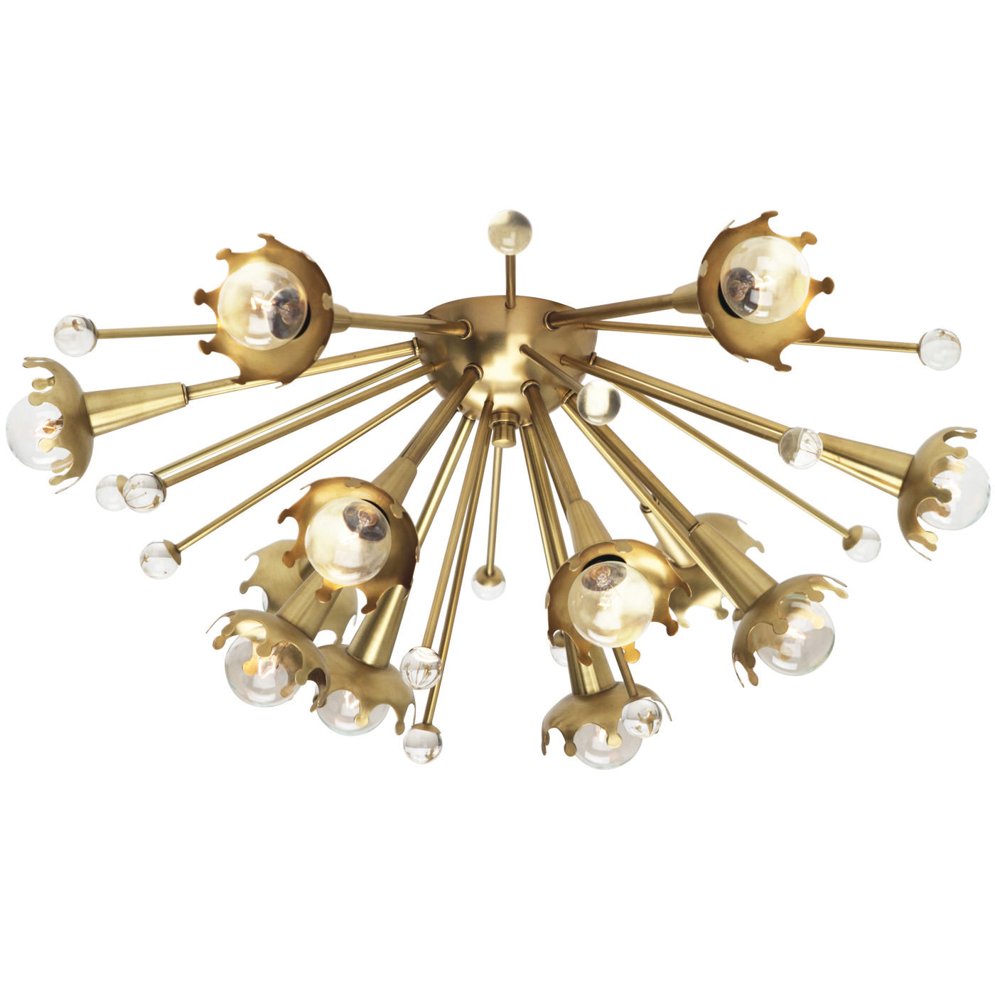 Sputnik Ceiling Light Fixture by Jonathan Adler | RA-711  sc 1 st  Lightology & Ceiling Light Fixture by Jonathan Adler | RA-711 azcodes.com