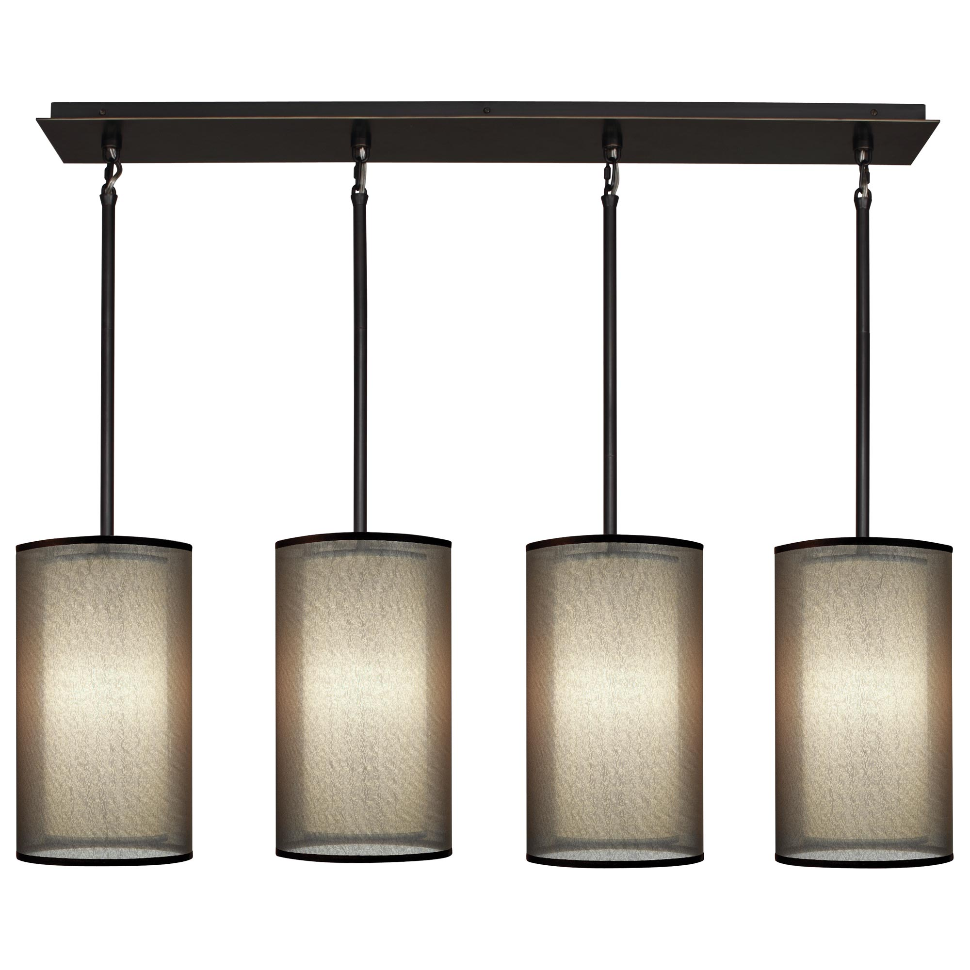 Saturnia 4 light linear pendant by robert abbey ra z2155 mozeypictures Gallery