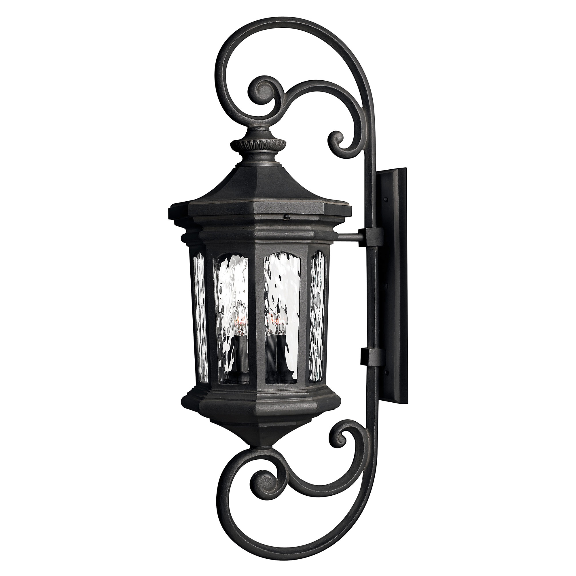 Hinkley Outdoor Wall Light: Raley Outdoor Curly Wall Light By Hinkley Lighting