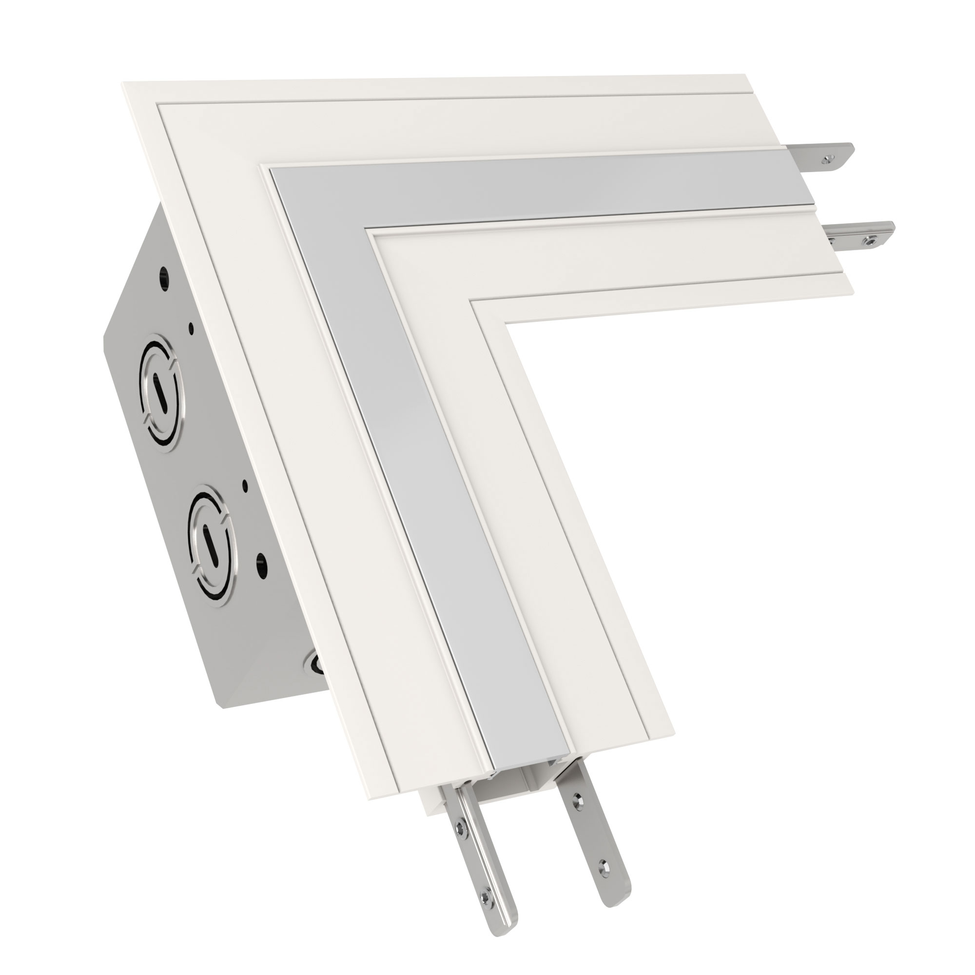 TruLine .5A L-Picture Frame Power Channel Connector by PureEdge ...