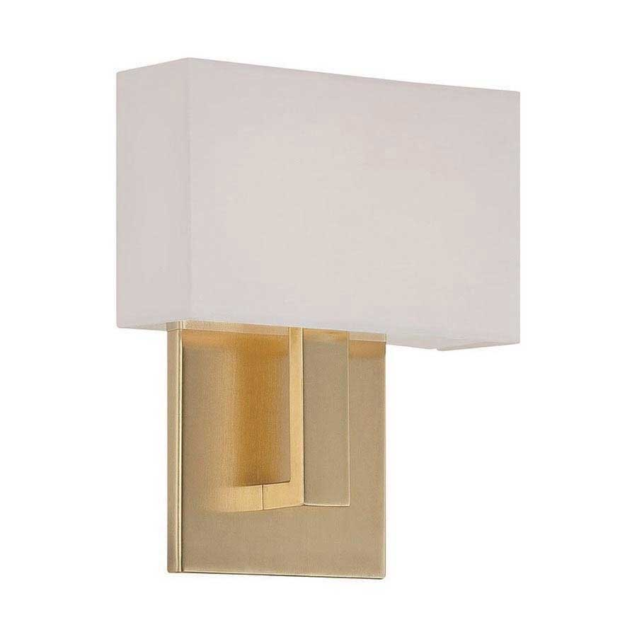 Manhattan led wall sconce by dweled by wac lighting ws 13107 br aloadofball Gallery