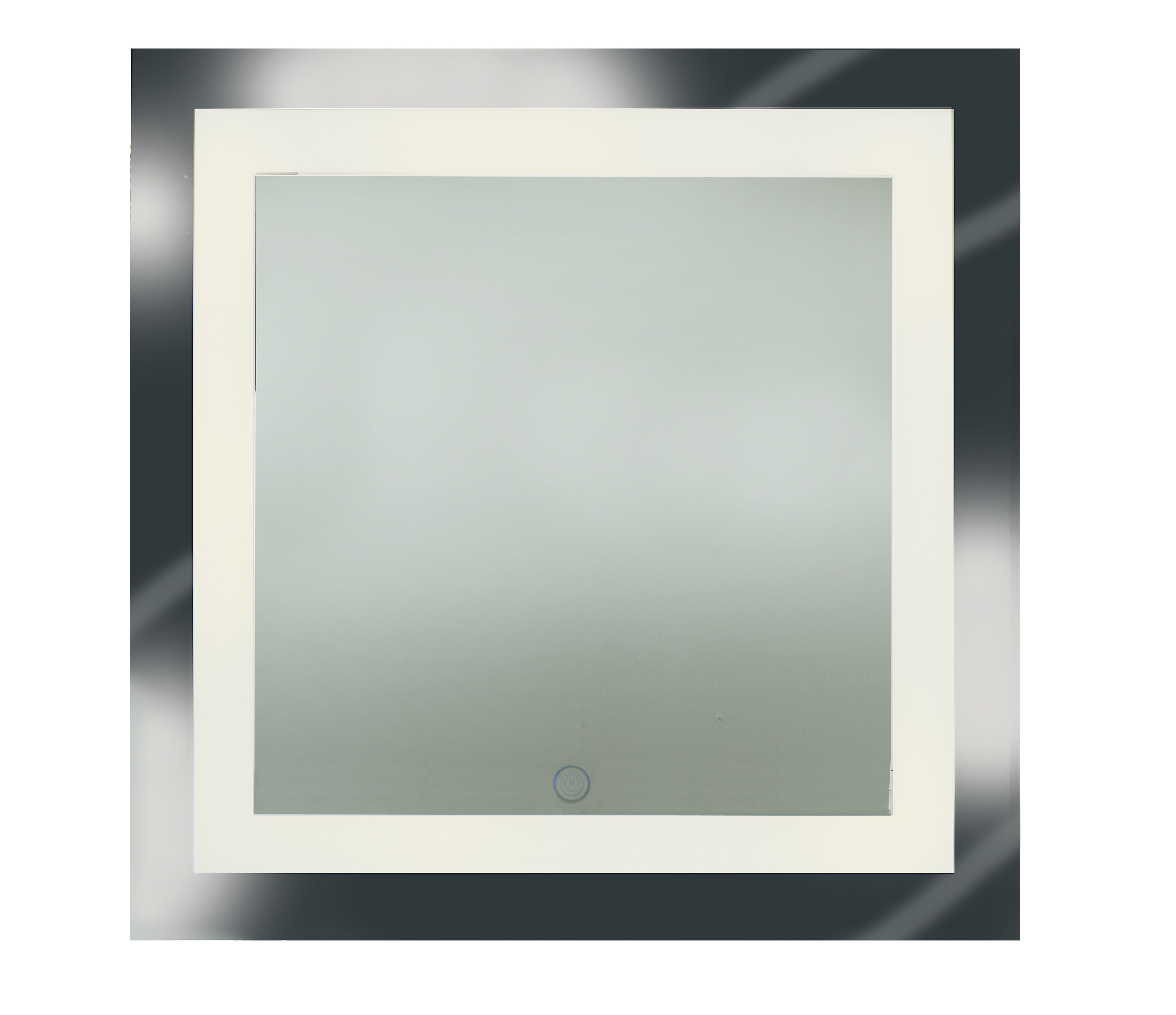 Spa Square Dimmable Led Mirror By Access 70086ledd Mir
