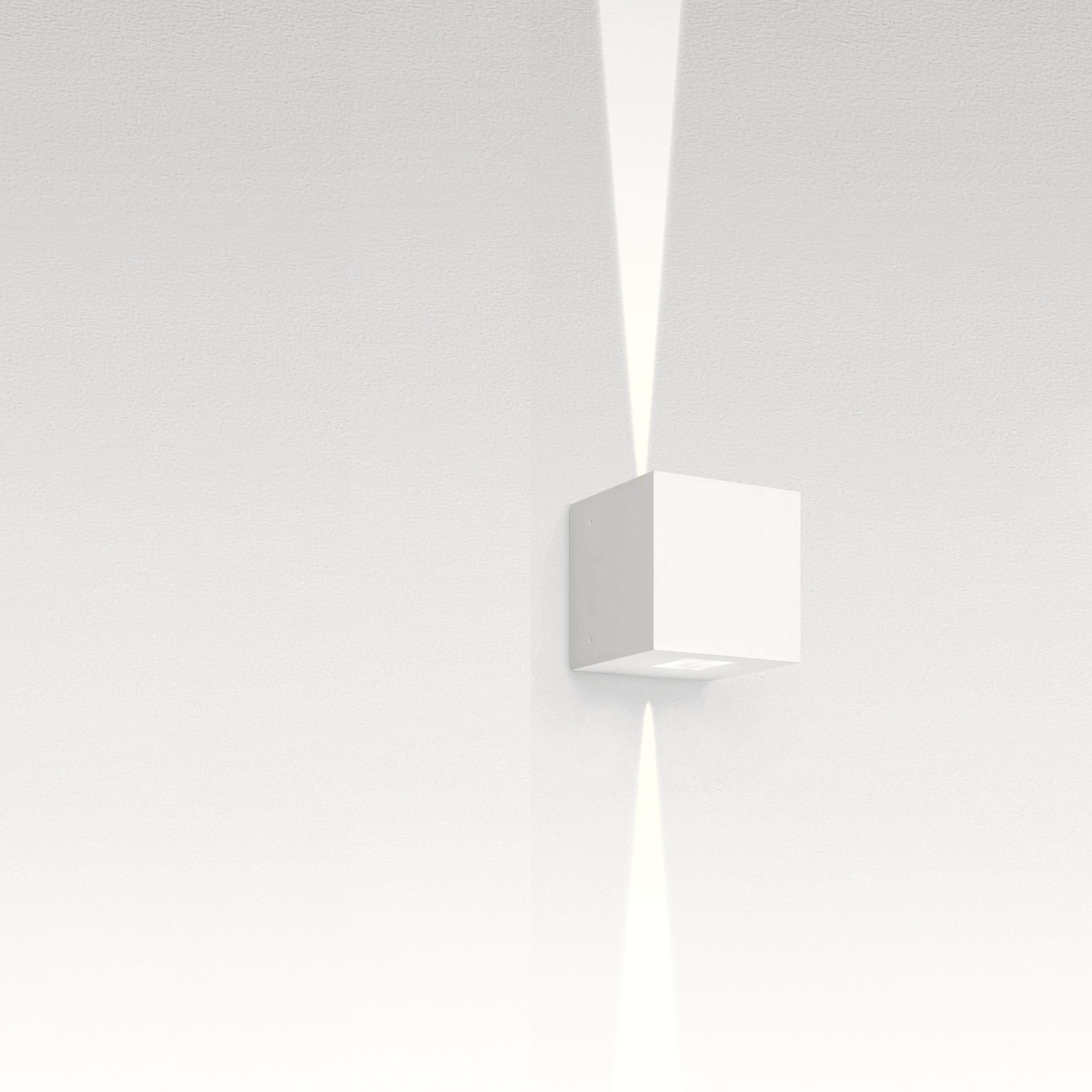 effetto 2 x 15 deg 7 watt outdoor wall light by artemide t42012nw08