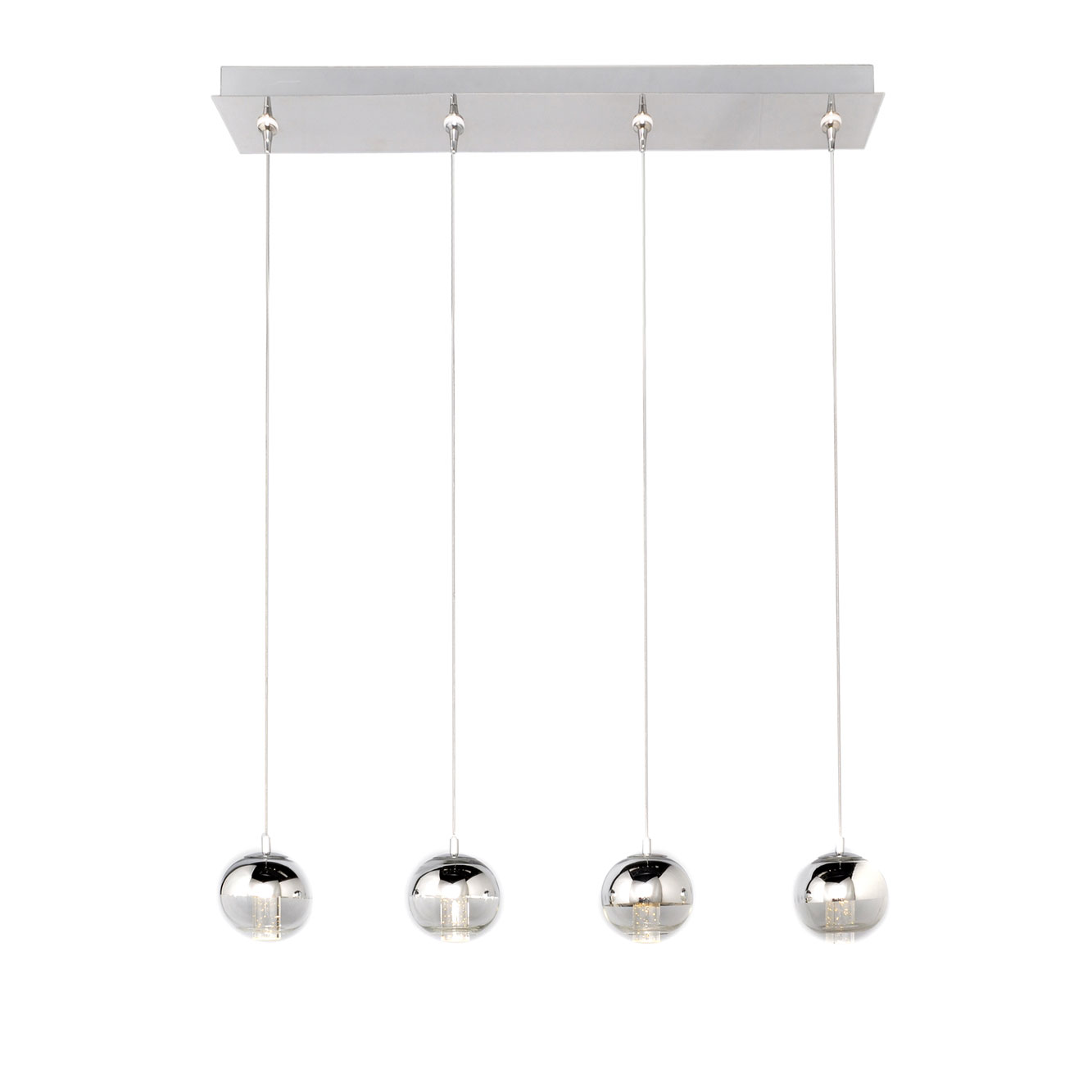Zing LED Linear Multi Light Pendant Download Image ...