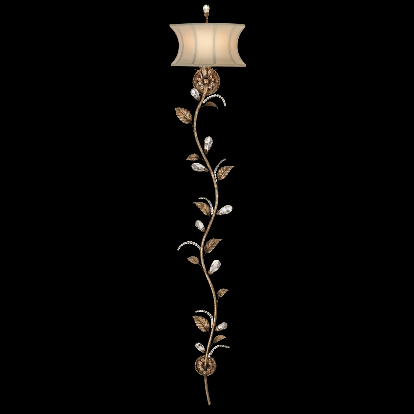 Wall Sconces Long : A Midsummer Night s Dream Long Wall Sconce by Fine Art Lamps 427150
